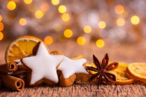 Weihnachten -  Duftende Pltzchen und Gewrze