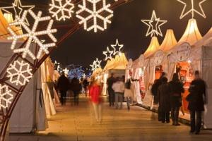 Hamburg Weihnachtsmarkt am Jungfernstieg